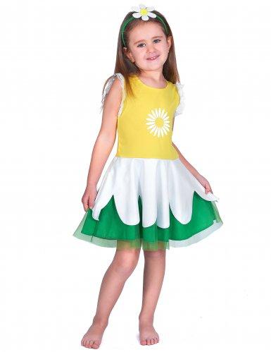 diversamente 75aa6 dfed9 Costume da margherita per bambina