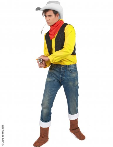 Costume da Lucky Luke™ adulto-1