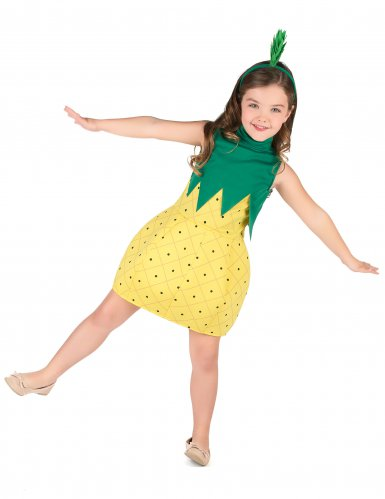 Costume da ananas per bambina