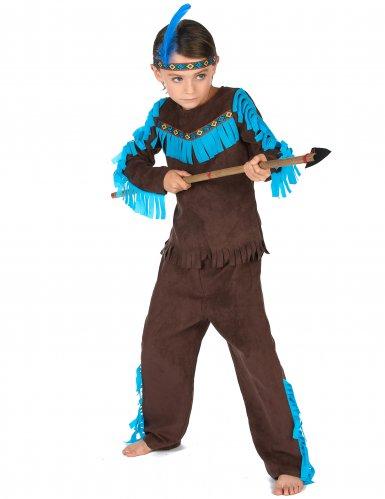 Costume da indiano marrone per bambino-1