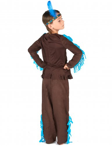Costume da indiano marrone per bambino-2
