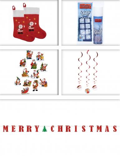Set decorazioni natalizie per casa