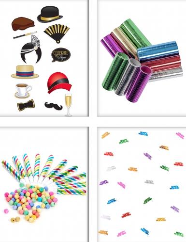 Set animazione per festa colorata