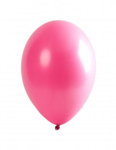 6 palloncini in lattice rosa 30 cm