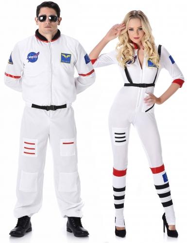Costume coppia astronauta per adulto