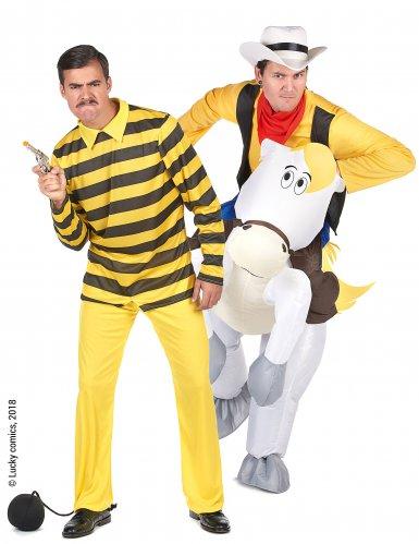 Costume di coppia Lucky Luke™ e Dalton per adulto