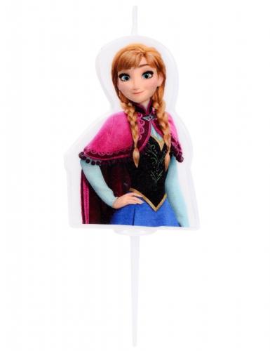 Candela di compleanno Frozen™ Anna 4.5 cm