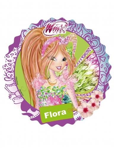 Disco di zucchero con Flora delle Winx™