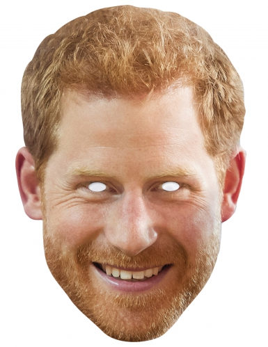 Maschera in cartone principe Henry