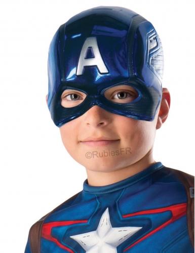 Maschera da Capitan America™ per bambino