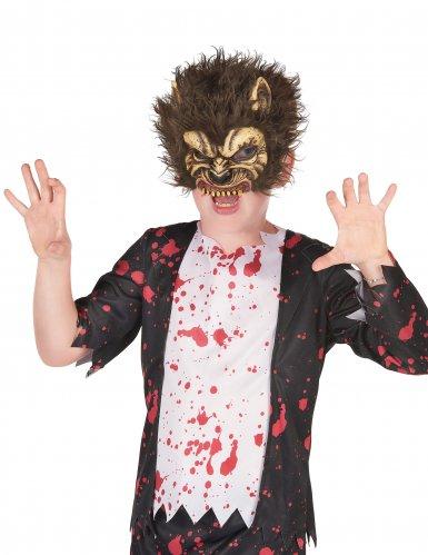 Maschera in lattice lupo mannaro per bambino