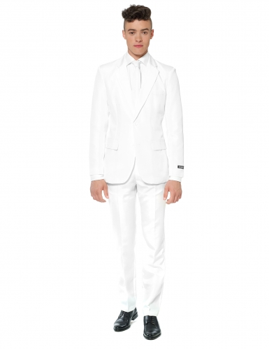 Costume Mr Solid bianco uomo Suitmeister™