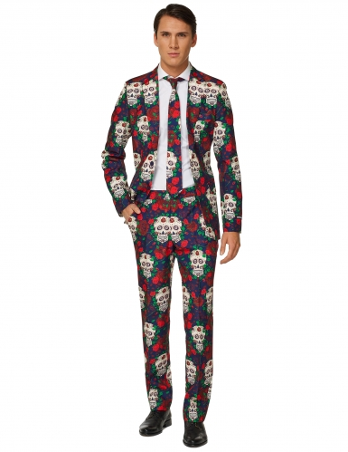Costume Mr Skull day of the dead uomo Suitmeister™