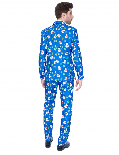 Costume Mr Xmas Snowman uomo Suitmeister™-1