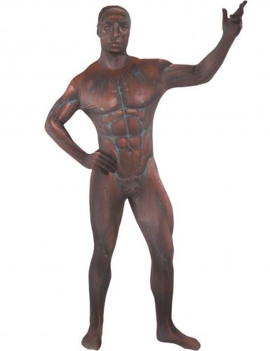 Costume da statua di bronzo per adulto Morphsuits™-1