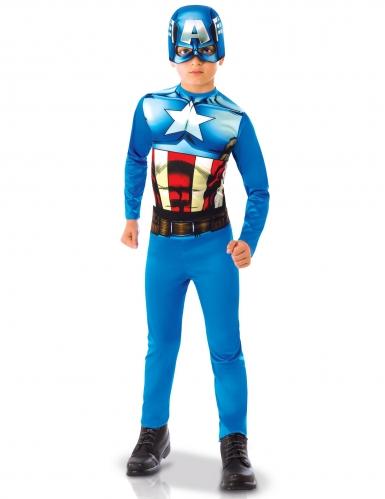 Costume Capitan America™ bambino