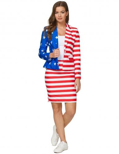 Costume Mrs USA Flag donna Suitmeister™