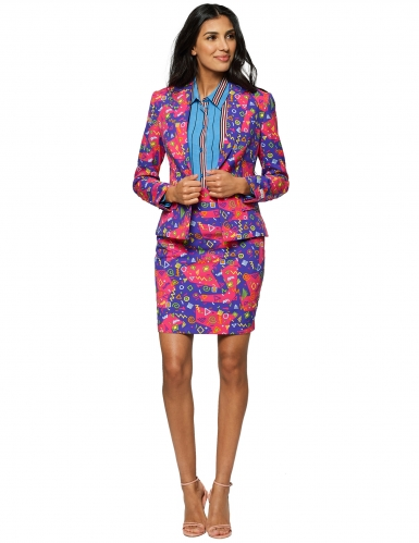 Costume da Mrs. Simbolo multicolor per donna Opposuits™
