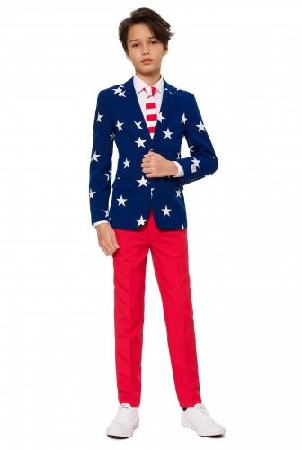 Costume Mr USA adolescente Opposuits™