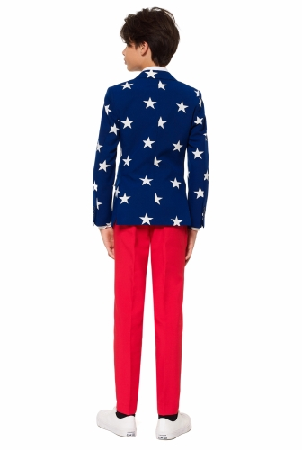 Costume Mr USA adolescente Opposuits™-1