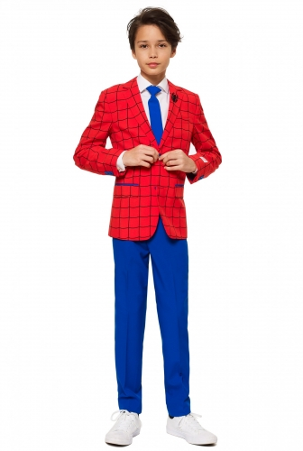Costume Mr Spider-Man™ adolescente Opposuits™