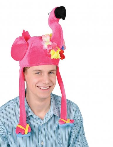 Cappello fenicottero rosa