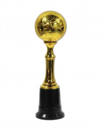 Trofeo di plastica dorato