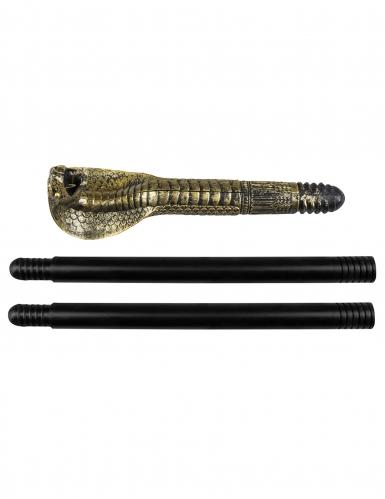 Scettro egiziano con serpente 82 cm-1
