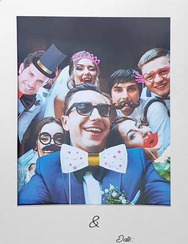 Kit Photobooth per matrimonio con cornice-1