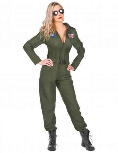 Costume da pilota d'aviazione per donna