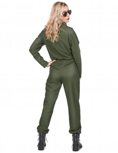 Costume da pilota d'aviazione per donna-2