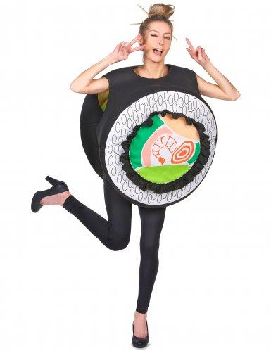 Costume maki sushi adulto