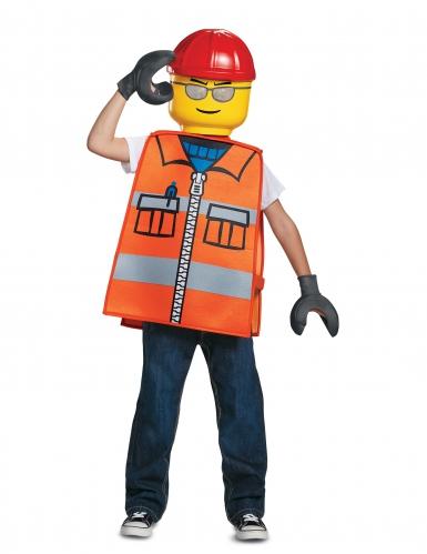 Costume da operaio di cantiere Lego™ per bambino