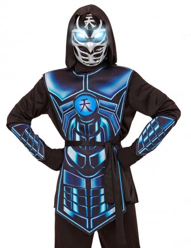 Costume cyber ninja luminoso e sonoro per bambino-1