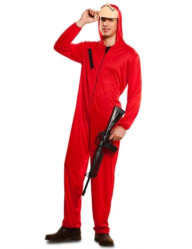 Costume da rapinatore La casa di Carta™ per adulto-1