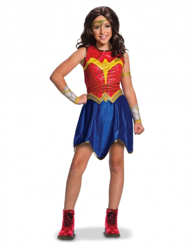 Costume Wonder Woman Justice League™ per bambina