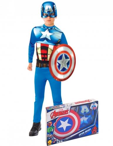 Cofanetto classico Capitan America™ con scudo bambino