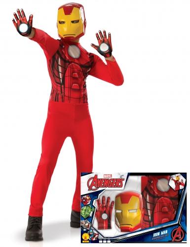 Cofanetto classico Iron Man™ con guanti per bambino