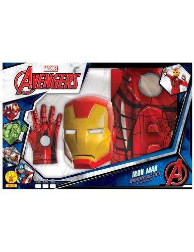 Cofanetto classico Iron Man™ con guanti per bambino-1