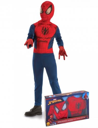 Costume classico Spider-Man™ con guanti per bambino