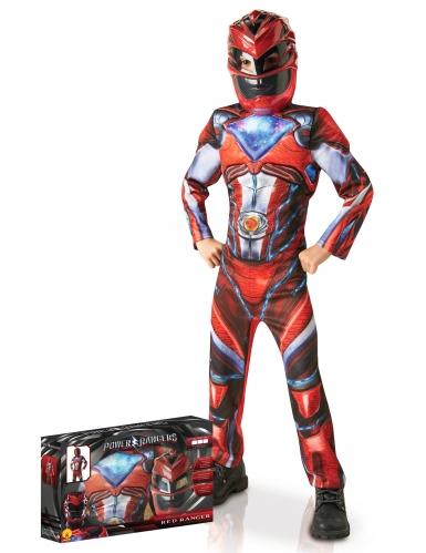 Costume deluxe Power Rangers Rosso™ per bambino