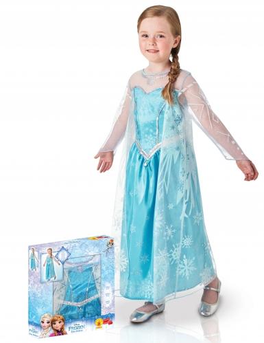 Cofanetto deluxe Costume Elsa Frozen™ per bambina