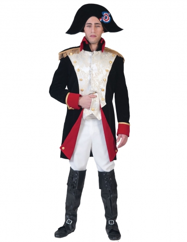 Costume deluxe da imperatore francese per uomo