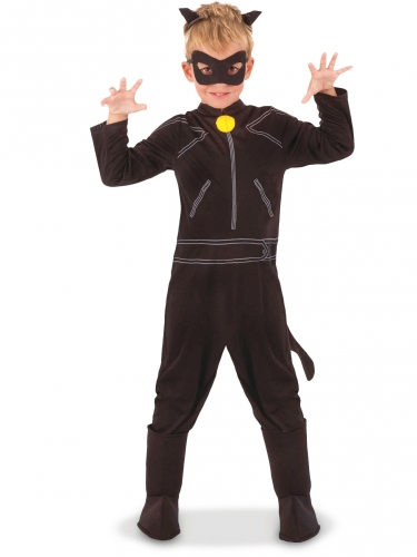 Costume classico Chat Noir Miraculous™ bambino