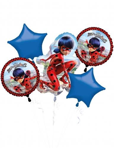 Set di 5 palloncini in Alluminio Ladybug™