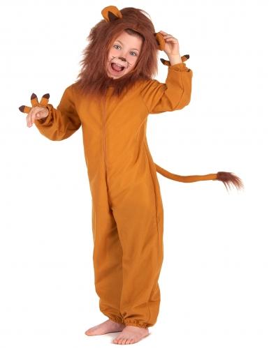 Costume da leone con criniera per bambino-1