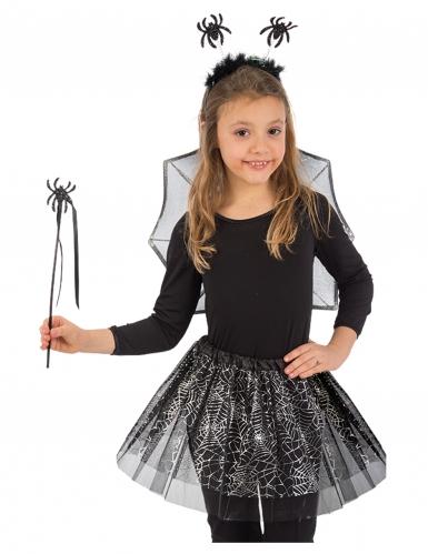 Kit da ragnetto nero per bambina