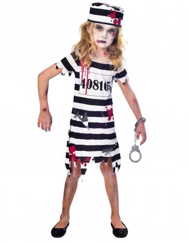 Costume da prigioniera zombie per bambina