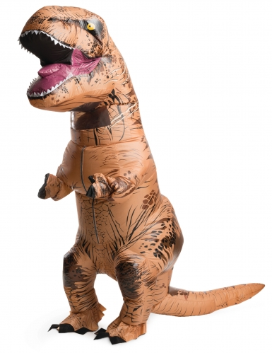 Costume T-rex gonfiabile Jurassic World™ per adulto