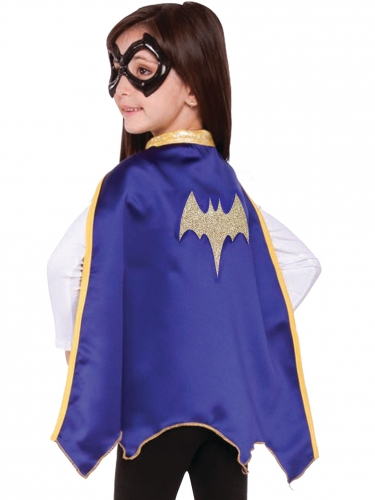 Mantello e Mascherina Batgirl Super hero Girl™ per bambina